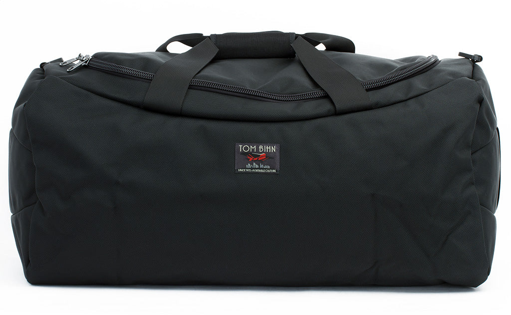 A Large Yeoman Duffel in black 1050 Ballistic.