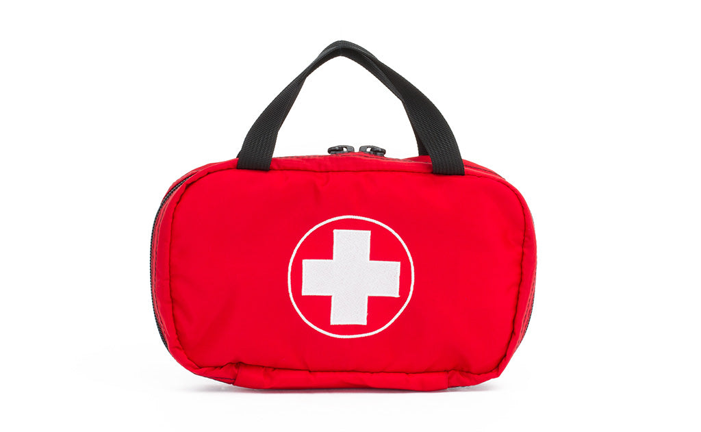 First Aid Pouch in Red