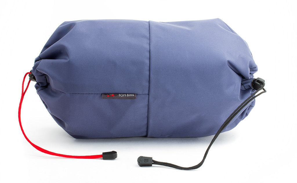An Aeronaut 45 Travel Laundry Stuff Sack in Dawn (blue-grey) 210 Ballistic.