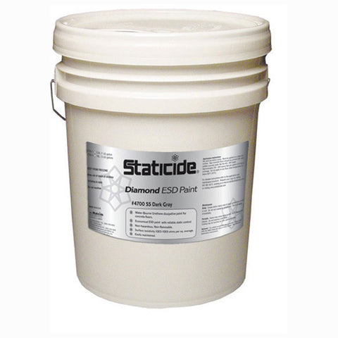ACL Staticide - 4700-SS-5 | 4700-SS Staticide Diamond Polyurethane Floor Coating - 5-Gallon Pail