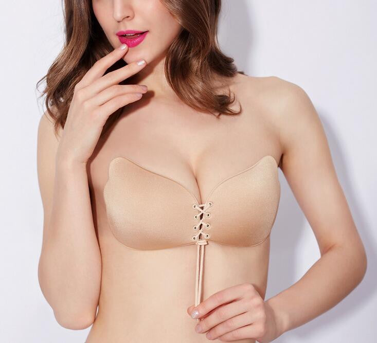 Invisible silicone bra