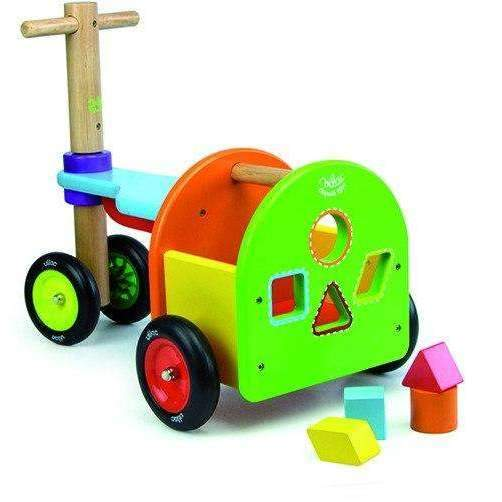 Vilac,Rainbow Trike with Sorting Blocks,CouCou,Toy