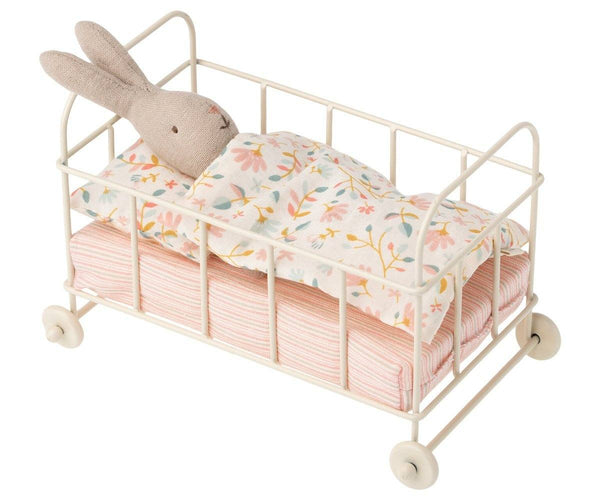 Maileg,Metal Baby Cot - Micro,CouCou,Toy