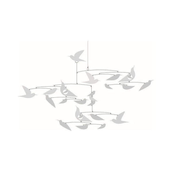 "Djeco,Paper ""White Birds"" Mobile,CouCou,Home/Decor"
