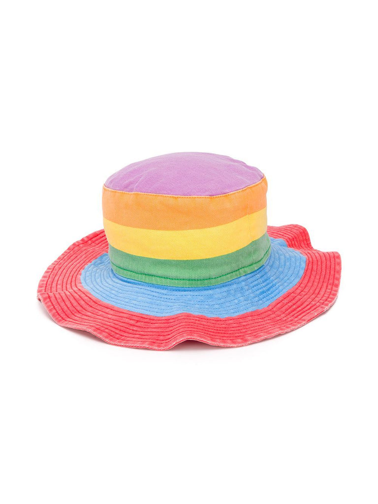 Stella McCartney Kids,Rainbow Stripe Bucket Hat,CouCou,Girl Swimwear
