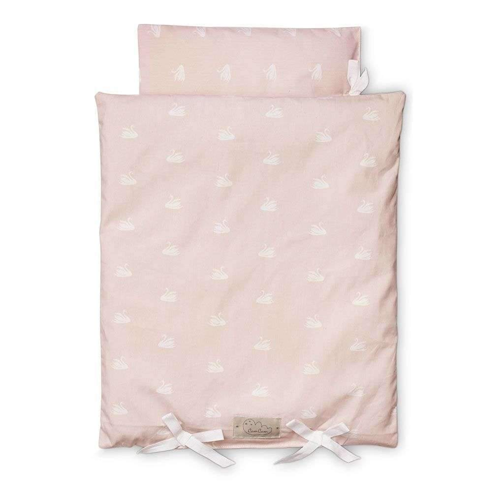 Cam Cam Copenhagen,Doll's Bedding in Swan Print,CouCou,Toy