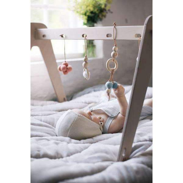 Loullou,1st Play Baby Gym and Accessories in Natural,CouCou,Toy