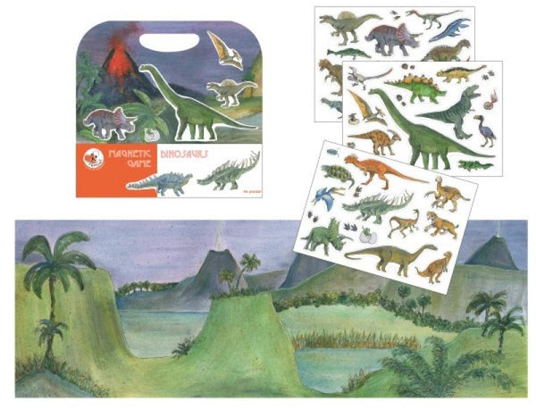 Egmont,Magnetic Game Dinosaurs,CouCou,Toy