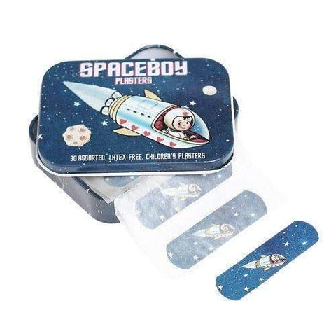 Bandaids in Tin Spaceboy Design
