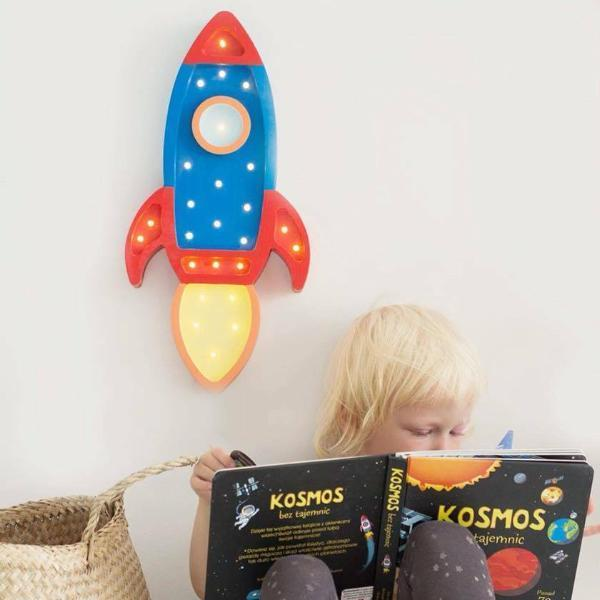 Little Lights,Rocketship Lamp,CouCou,Home/Decor