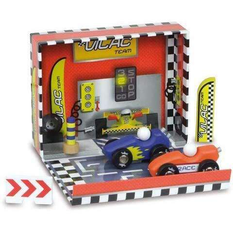 Race Box Kit with Wooden Accessories