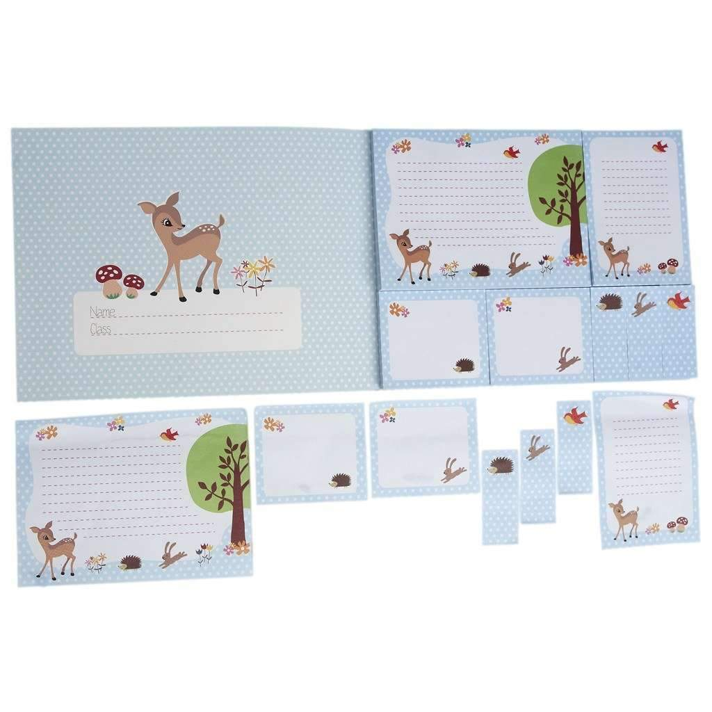 Rex,Sticky Memo Pads Woodland Animals,CouCou,Crafts & Stationary