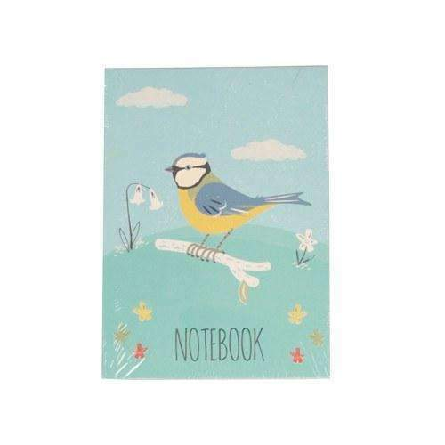 Rex,Blue Tit Design A6 Notebook,CouCou,Crafts & Stationary