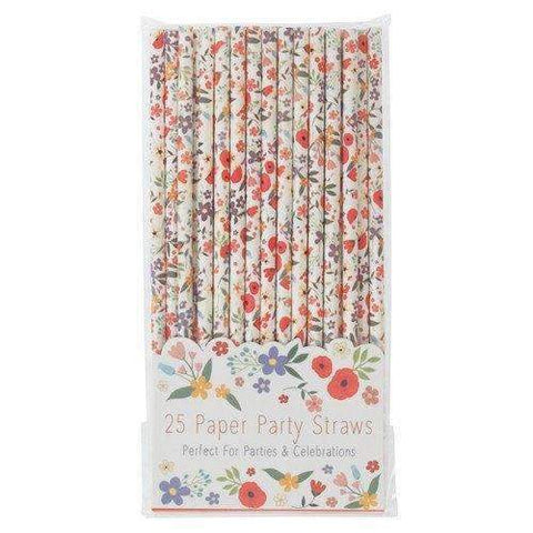 Summer Meadow Paper Straws