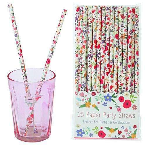 Rex,Summer Meadow Paper Straws,CouCou,Party
