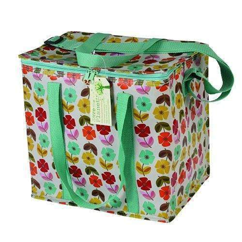 Rex,Eco Mid Century Poppy Picnic Bag,CouCou,Kitchenware