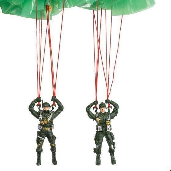 Rex,Make Your Own Paratrooper Parachute,CouCou,Toy