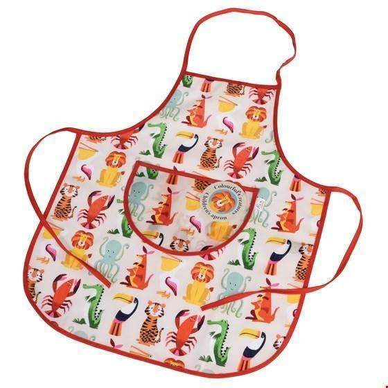 Rex,Colorful Creatures Apron,CouCou,Crafts & Stationary