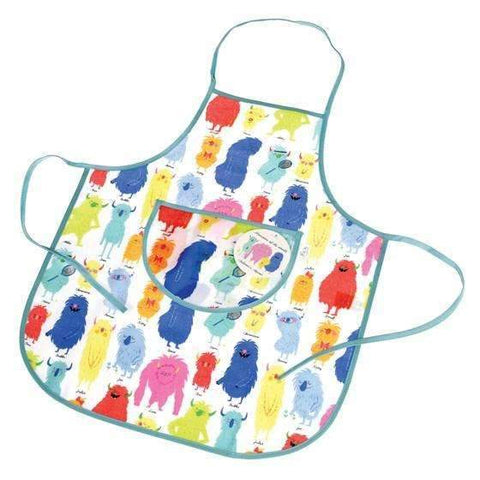 Monsters of the World Apron