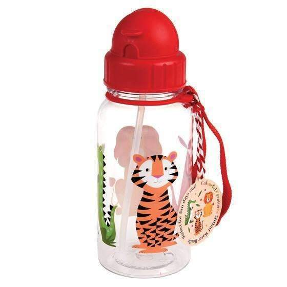 Rex,Colorful Creatures Kids Water Bottle,CouCou,Kitchenware
