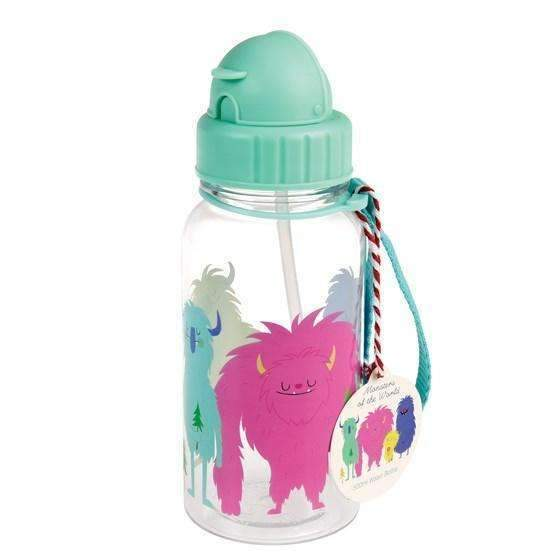 Rex,Monsters of The World Kids Water Bottle,CouCou,Kitchenware