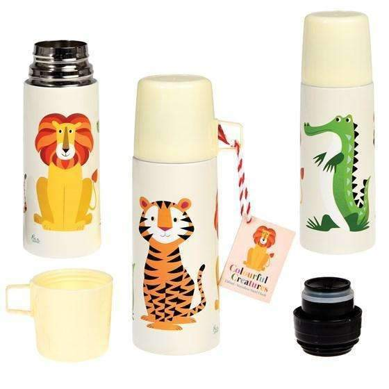 Rex,Colorful Creatures Flask and Cup,CouCou,Kitchenware