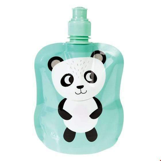 Rex,Miko the Panda Folding Water Bottle,CouCou,Kitchenware