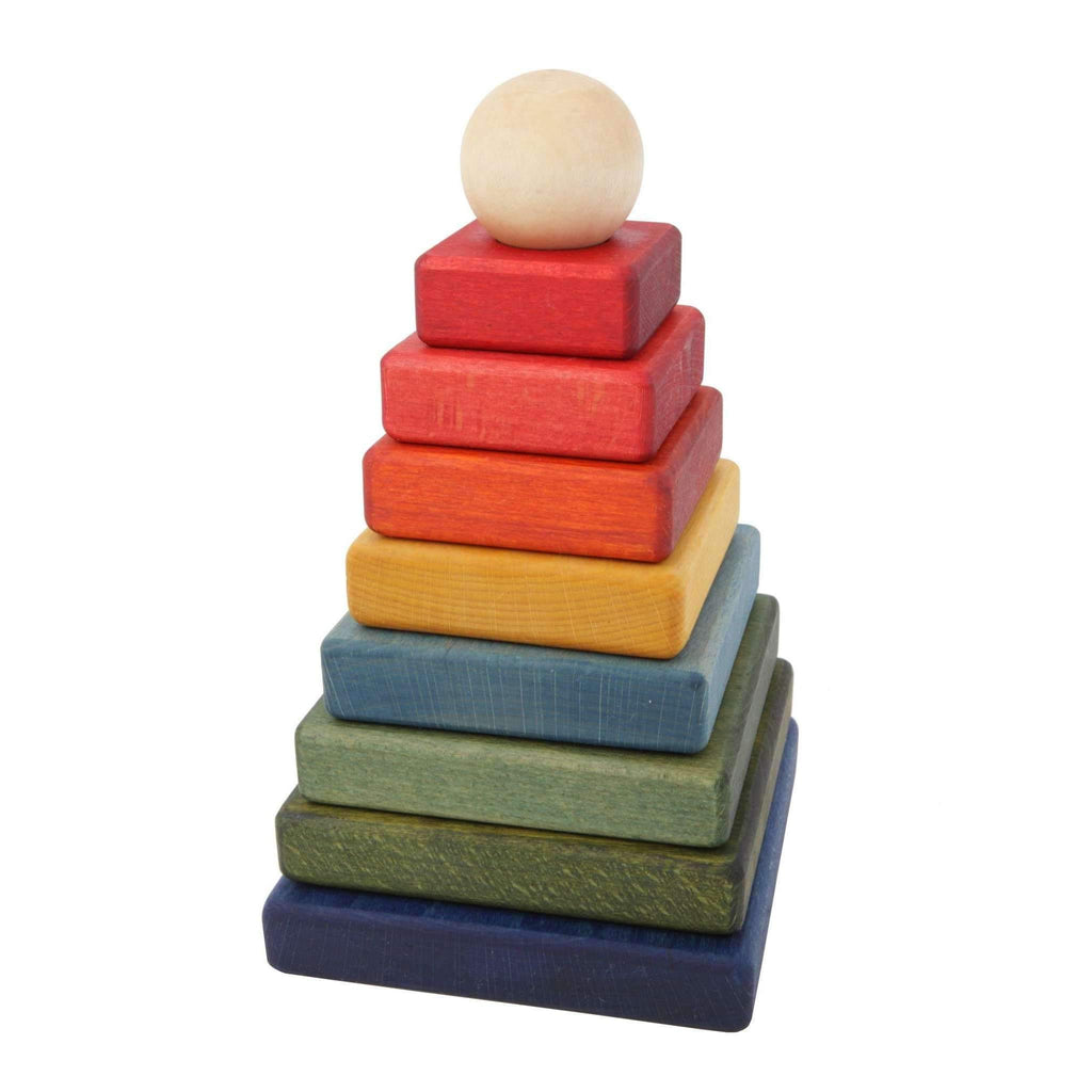 Wooden Story,Rainbow Pyramid,CouCou,Toy