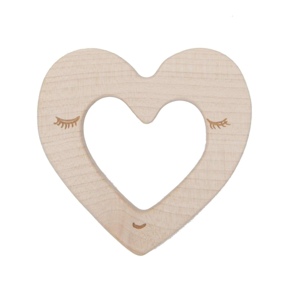 Wooden Story,Teether - Heart,CouCou,Toy