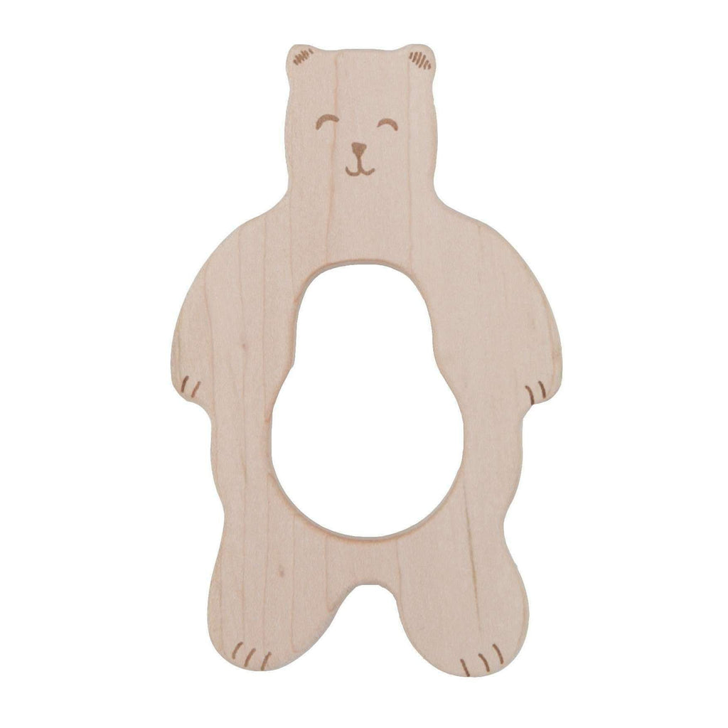 Wooden Story,Teether - Smiley Bear,CouCou,Toy