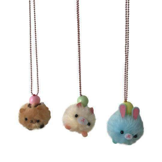 Pop Cutie,Pom Pom Pet Necklace,CouCou,Girl Accessories & Jewellery