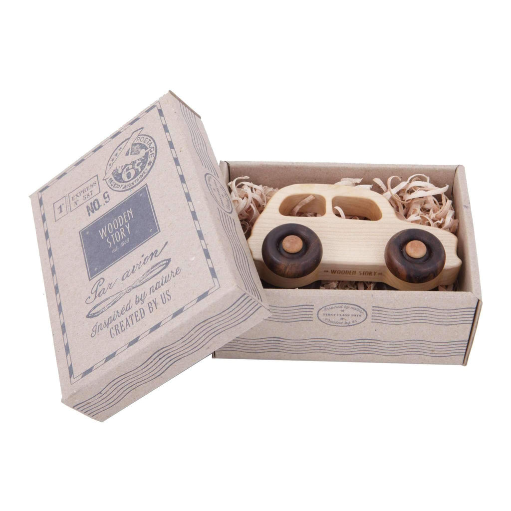 Wooden Story,Wooden Little French Car,CouCou,Toy