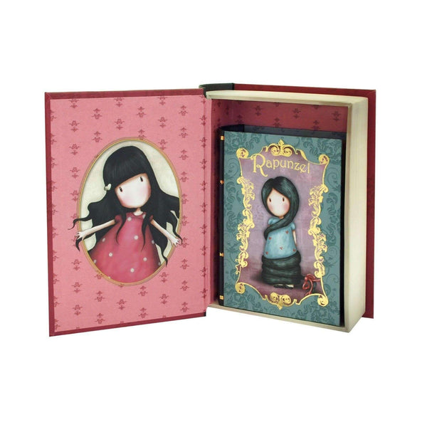 Santoro London,Set of 2 Secret Book Boxes, New Heights Rapunzel,CouCou,Crafts & Stationary