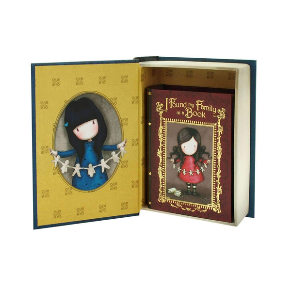 Santoro London,Set of 2 Secret Book Boxes, Family in A Book,CouCou,Crafts & Stationary
