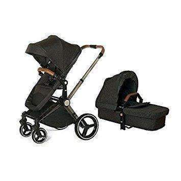 Venice Child Products,Kangaroo Stroller and Bassinet, Charcoal,CouCou,Furniture and Gear