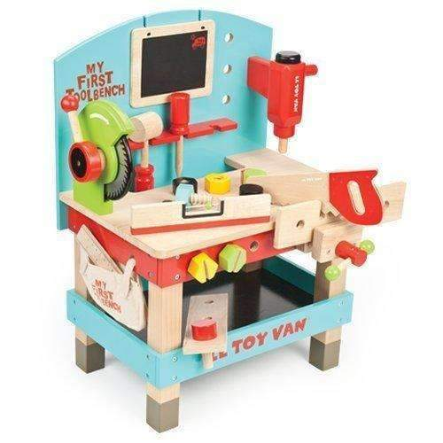 Le Toy Van,My First Wooden Tool Bench,CouCou,Toy