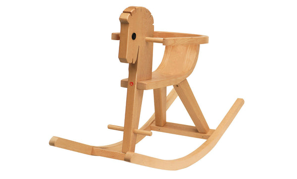Ostheimer Wooden Toys,Rocking Horse Peter with Arm Rest,CouCou,Toy