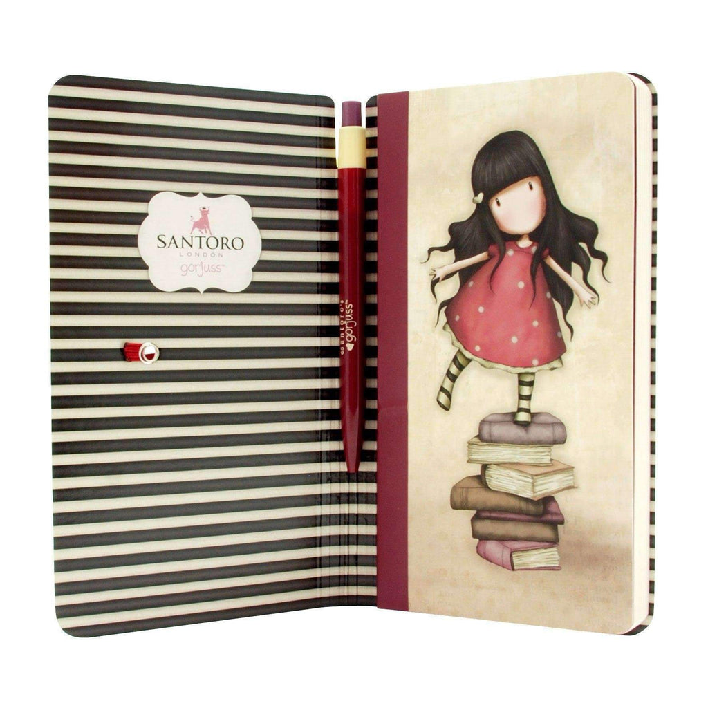 Santoro London,New Heights Jotter with Pen,CouCou,Crafts & Stationary