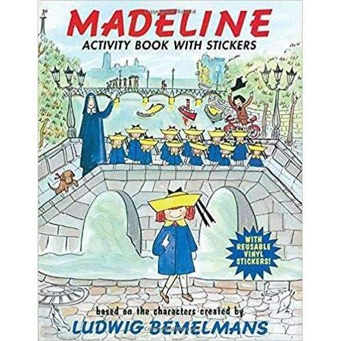 Penguin,Madeline Activity Book with Stickers,CouCou,Book