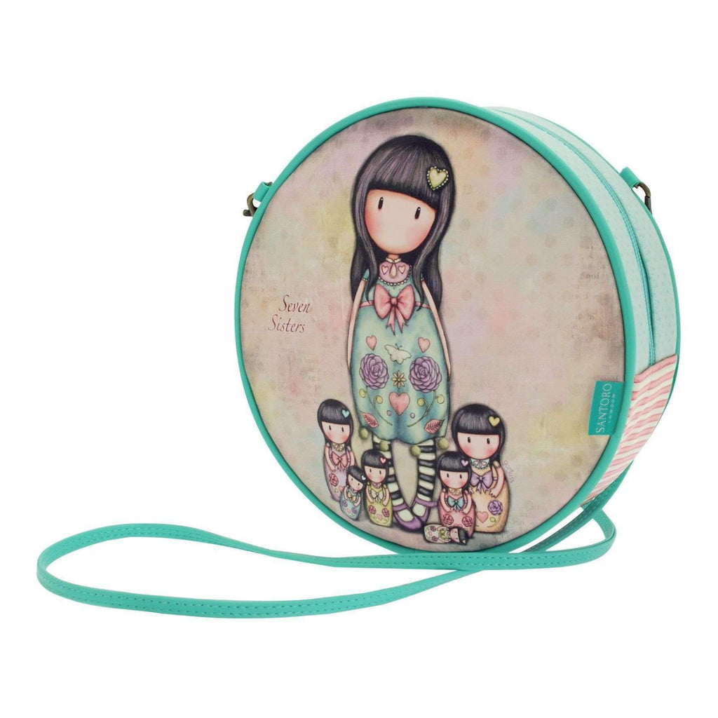 Santoro London,Seven Sisters Round Shoulder Bag,CouCou,Girl Accessories & Jewellery