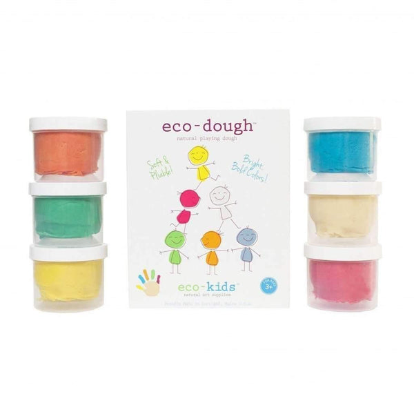Eco Kids,Eco Dough 6 Pack,CouCou,Arts & Crafts