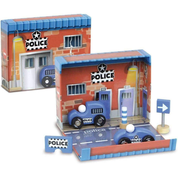 Vilac,Police Box Kit with Wooden Accessories,CouCou,Toy