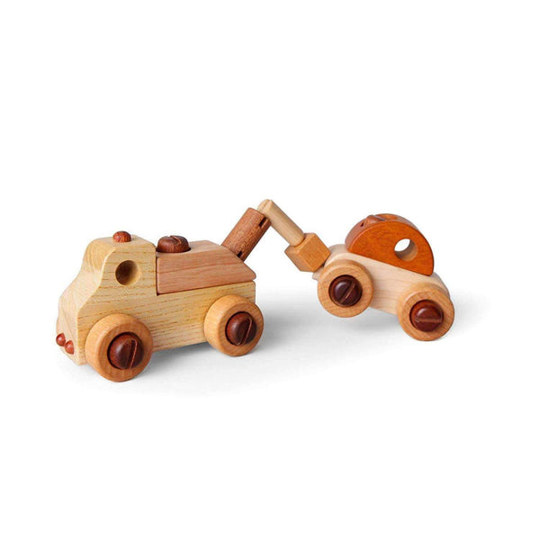 Soopsori,Wooden Car with Tool Kit,CouCou,Toy