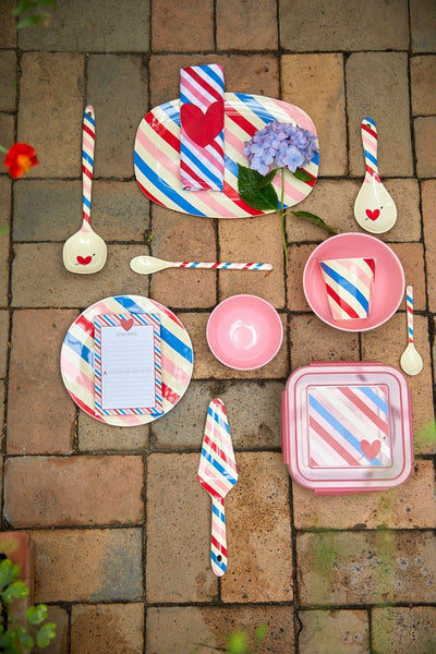 RICE,Small Bowl with Candy Stripes Print,CouCou,Kitchenware