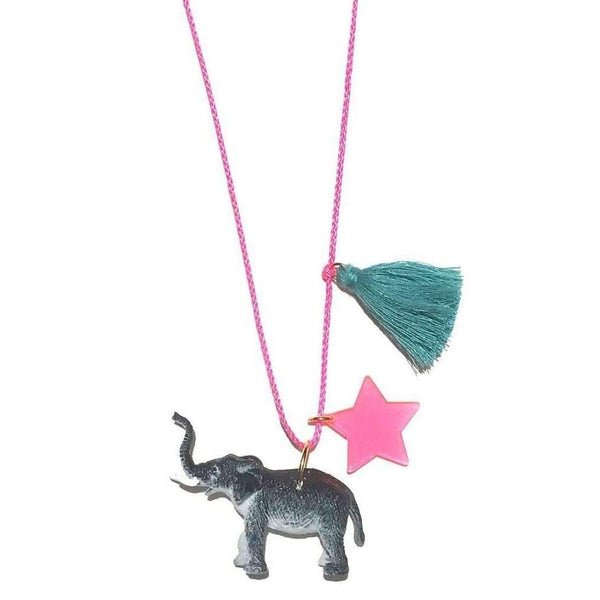 Gunner & Lux,Elle the Elephant Necklace,CouCou,Girl Accessories & Jewellery