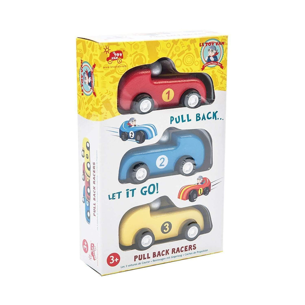 Le Toy Van,Pull Back Racer Set of Three,CouCou,Toy