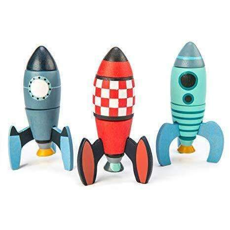 Tender Leaf Toys,Rocket Construction,CouCou,Toy