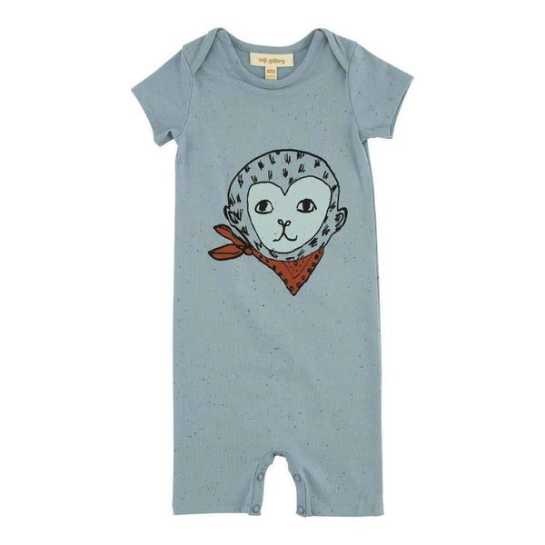 Soft Gallery,Owen Bandit Romper,CouCou,Baby Layette and Pyjama
