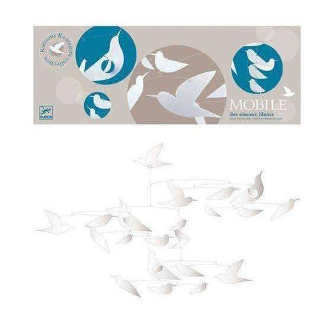"Paper ""White Birds"" Mobile"