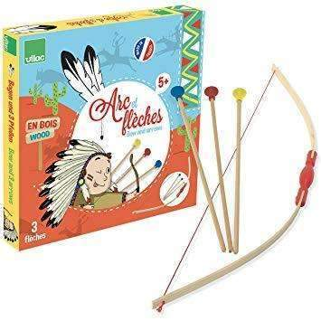 Vilac,Bow and Arrows Set,CouCou,Toy
